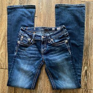 Miss Me girls boot cut jean
